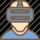 headset, reality, virtual, virtual reality, vr icon