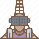 coaster, reality, roller, virtual, virtual reality, vr icon