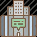 ar, buildings, reality, virtual, virtual reality, vr icon
