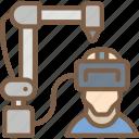 control, machine, reality, virtual, virtual reality, vr icon