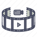 gadget, movie, panorama, video, view, virtual reality, vr icon