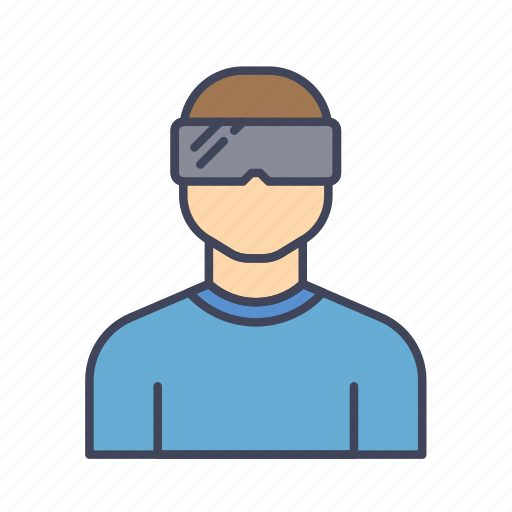 gadget, reality, simulator, technology, virtual, vr icon