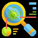 bacteria, diagnose, lab, researcher, scientist, search, virus