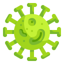 bacteria, cell, diagnosis, medical, prohibition, science, virus icon