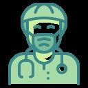 bacteria, doctor, medico, physician, sawbones, scientist, virus