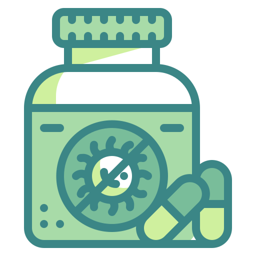 Antiretroviral, bacteria, capsule, drug, medicine, pill, virus icon - Free download