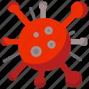 coronavirus, infection, virus icon