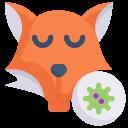 animal, disease, epidemic, fox virus, infection, transmission, virus
