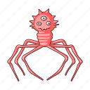 bacterium, cute, funny, infection, medicine, microbe, virus icon