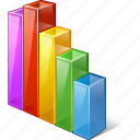 analytics, bar, chart, graph, statistics, stats icon