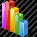 analytics, chart, graph, statistics, stats, bar