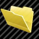 category, folder, open