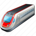 train, transport, travel icon