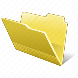 category, folder, open icon