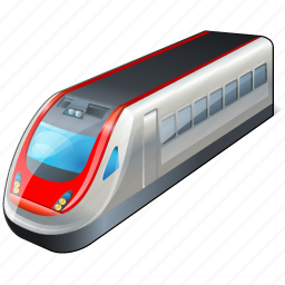 train, transport, travel icon