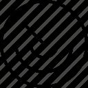 beam, locate, mix, rotate, turn icon