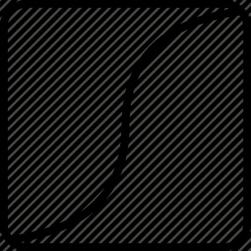 angle, edge, shape, sides, wave icon