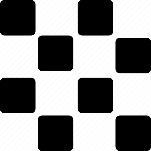 chess, fields, grid, pattern, squares icon