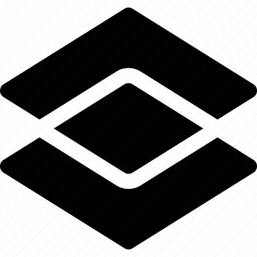 decoration, double, pattern, rhombus, shape, square, visual icon