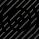 buzz, center, sound, speaker, vibration icon