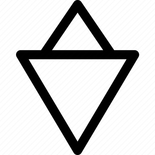 artistic, gender, male, man, sign, triangles icon