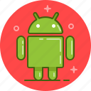 android, os, robot, samsung icon