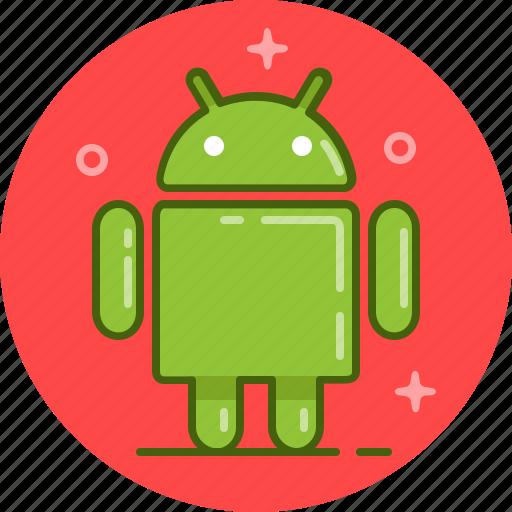 android, os, robot, samsung icon