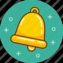 bell, notification, signal, alert, ring, school bell