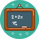 calculate, calculation, blackboard, chalkboard, maths, mathematics, board