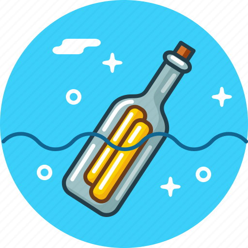 Bottle, message, note, rescue, shipwreck icon - Download on Iconfinder