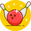 ball, bowling, bowls, game, play icon