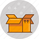 box, delivery, pack, package, shipping icon