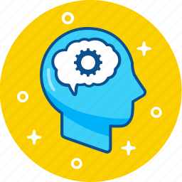 brain, idea, intellect, mind, think icon