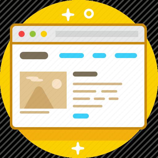 browser, desktop, google, site icon