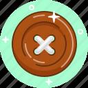 button, clothes, repair