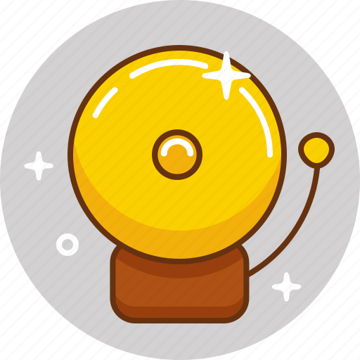 alarm, bell, call, ring, school bell, signal icon