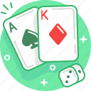 cards, casino, gambling, game, play, poker icon