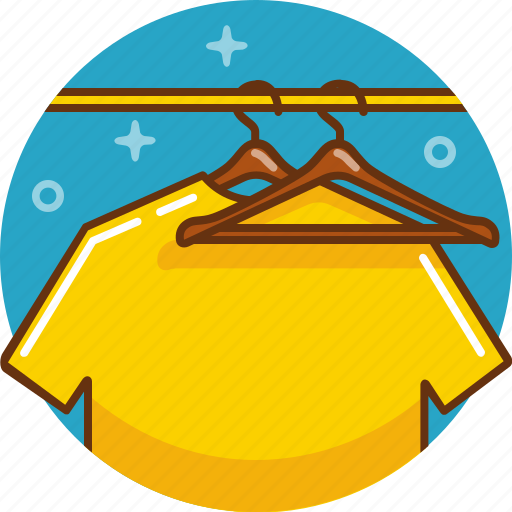 closet, clothes, garderobe, storage, store, t shirt, wardrobe icon