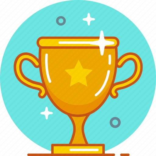 award, cup, prize, victory, win, winner icon