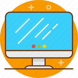 apple, computer, desktop, mac, pc, screen icon