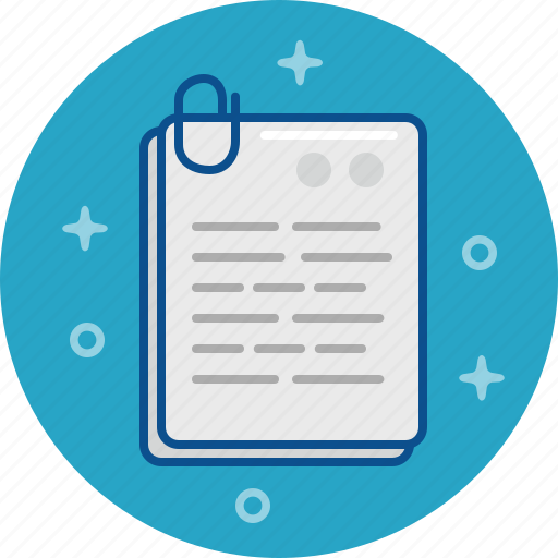 document, file, information, letter, new, paper icon