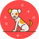 puppy, dog, friend, animal icon