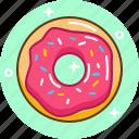 dessert, donut, fast food, food, sweet