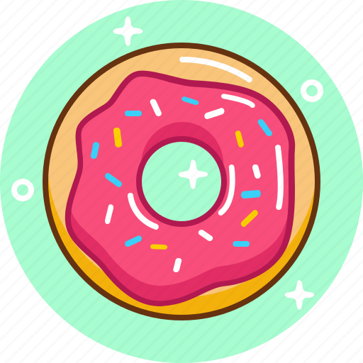 Dessert, donut, fast food, food, sweet icon - Download on Iconfinder