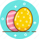 easter, easter egg, easter rabbit, egg, spring icon