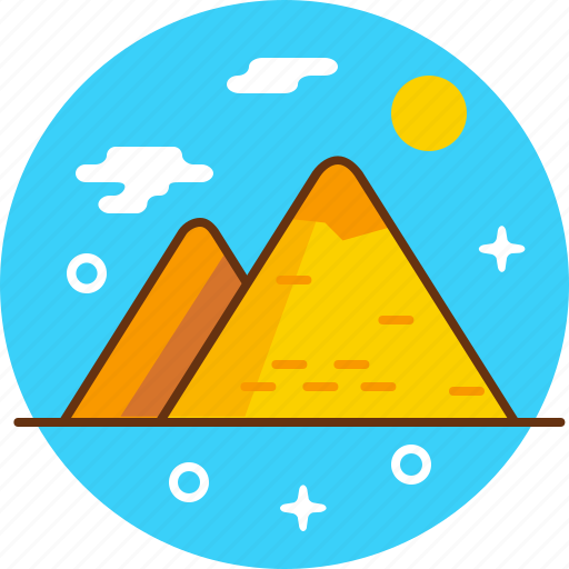 egypt, mummy, pharaon, pyramid icon
