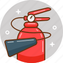 extinguisher, fire, fire extinguisher, protection, security icon