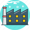 factory, industry, plant, production icon