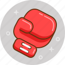 boxing, boxing glove, fight, kickboxing, sport icon
