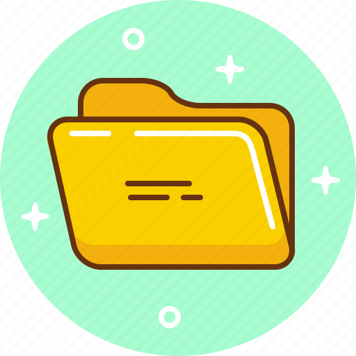 Document, folder, open, save icon - Download on Iconfinder
